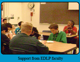 Support from EDLP